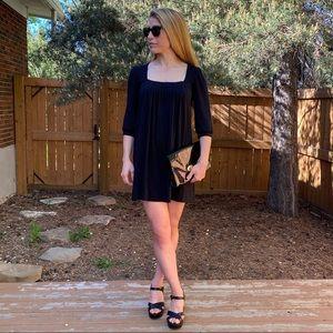2/$50👗Anthro Delphine Dress Black Size S